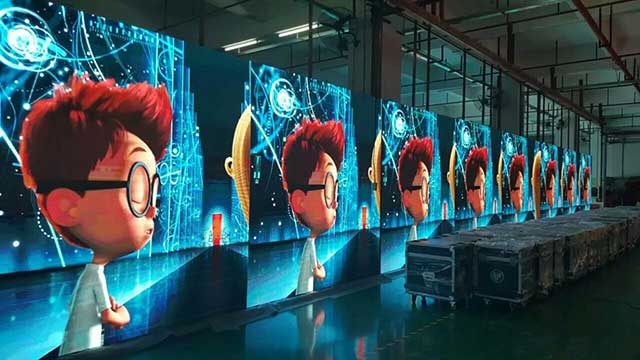 indoor P3.9 rental led display